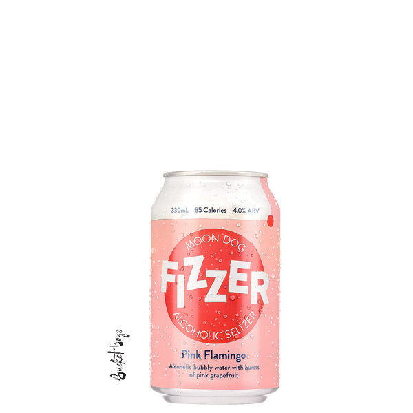 Moon Dog Fizzer Pink Flamingo