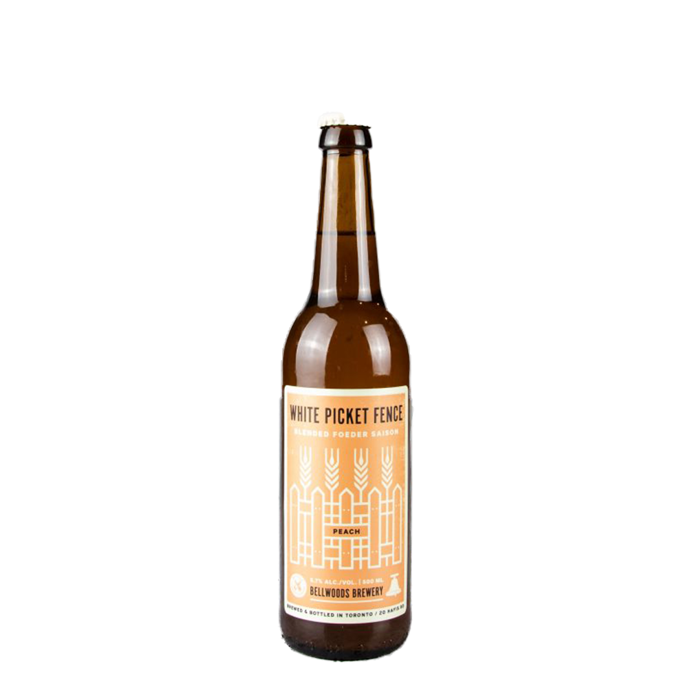 Bellwoods Brewery White Picket Fence Peach