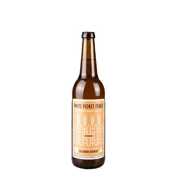 Bellwoods Brewery White Picket Fence Peach (500ml)