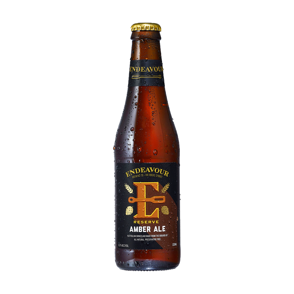 Endeavour Amber Ale (330ml)