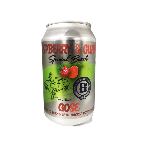 From Ben / Barossa Valley Raspberry & Guava Gose (330ml)