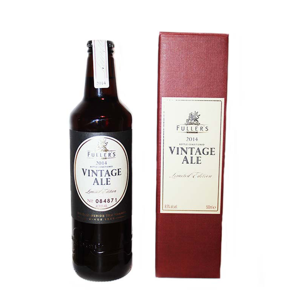 Fullers Vintage Ale 2014 | Bucket Boys Craft Beer