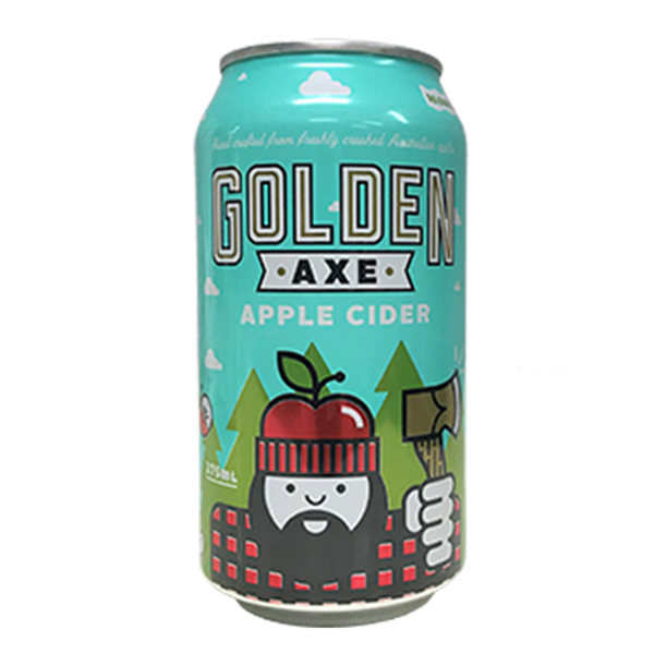 Golden Axe Apple Cider (375ml)
