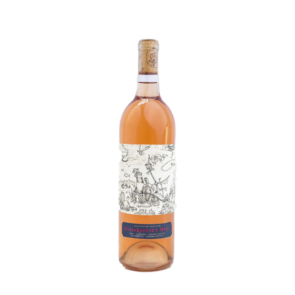 Delinquente 2018 Hell Rose (750ml)