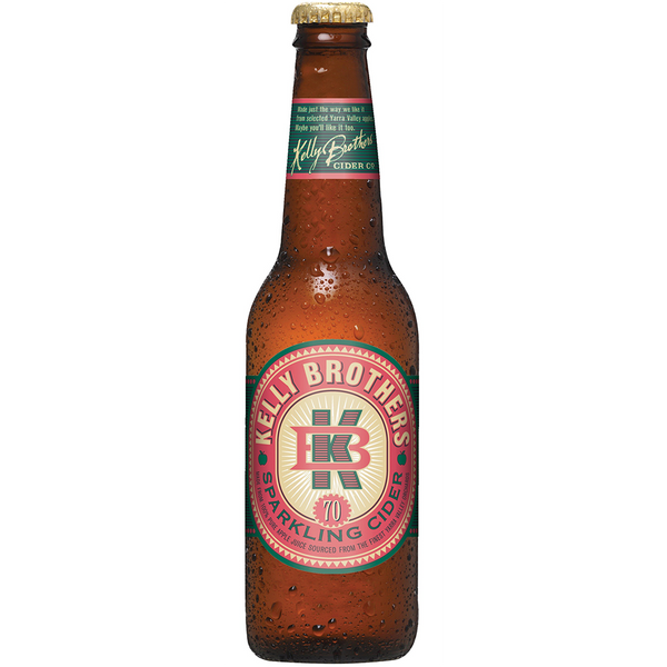 Kelly Brothers Apple Cider (330ml)