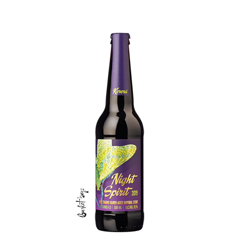 Kereru 2019 Night Spirit Whisky BA Imp Stout