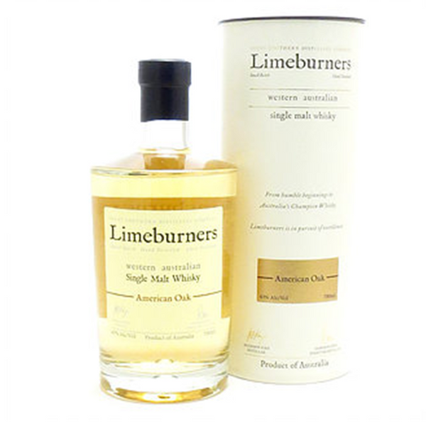 Limeburners American Oak Whisky (700ml)