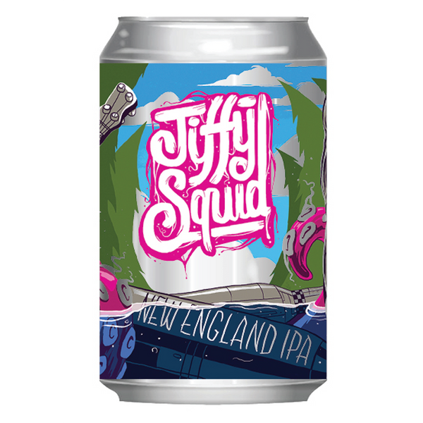 Mornington Jiffy Squid New England Session IPA