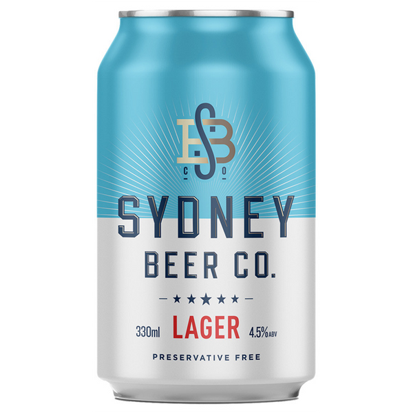 Sydney Beer Co Lager