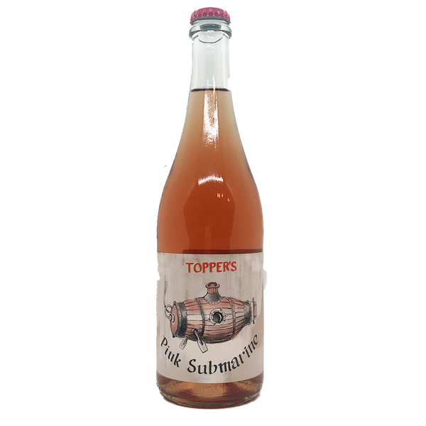 Topper's Mountain 2020 Pink Submarine Rose (750ml)