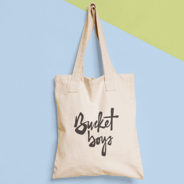 Bucket Boys Tote Bag