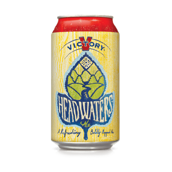 Victory Headwaters Pale Ale (354ml)