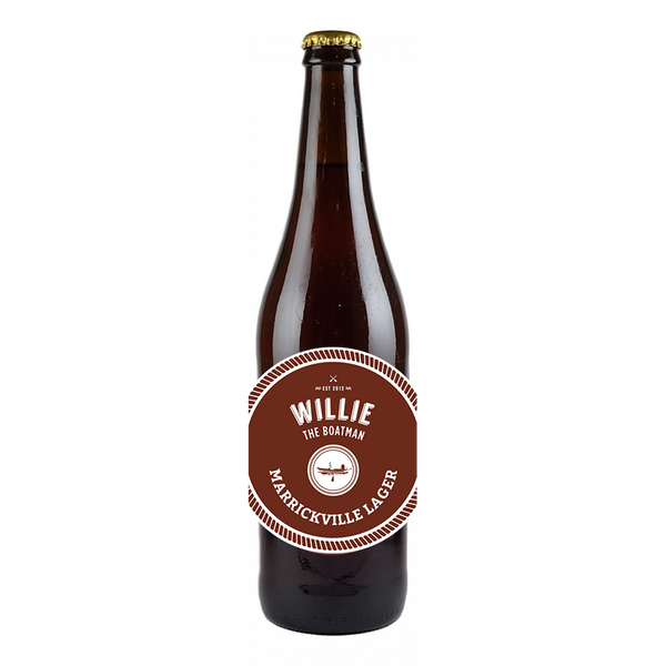 Willie The Boatman Marrickville Lager
