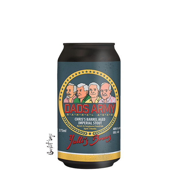 Yulli's Dad's Army Chris' Imperial Stout