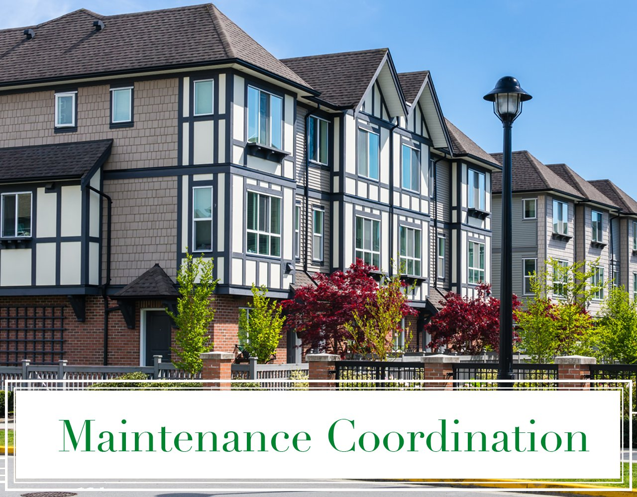 Maintenance Coordination New Life