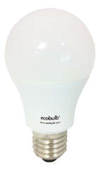 Ecobulb Dimmable E27 9W LED - Cool White. 5 YEAR WARRANTY