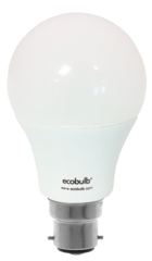 Ecobulb B22 DIMMABLE 9W LED - Cool White. 5 Year Warranty
