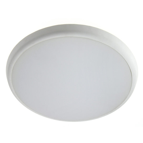 Ecolife 12W Oyster Ceiling Light - 5 Year Warranty - SUPPLY ONLY