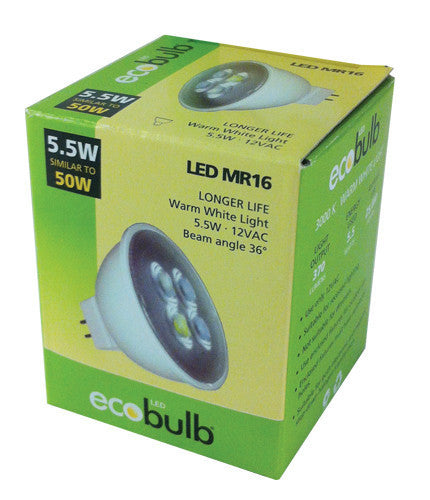 LED Bulb 5.5Watt Ecobulb MR1, Downlight