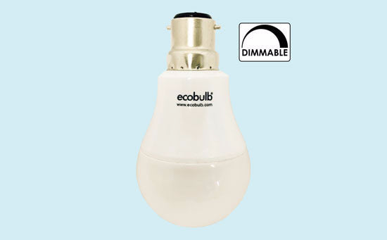 Ecobulb LED Bulb, B22 9Watt Cool White - LED - My Eco Limited - Downlight