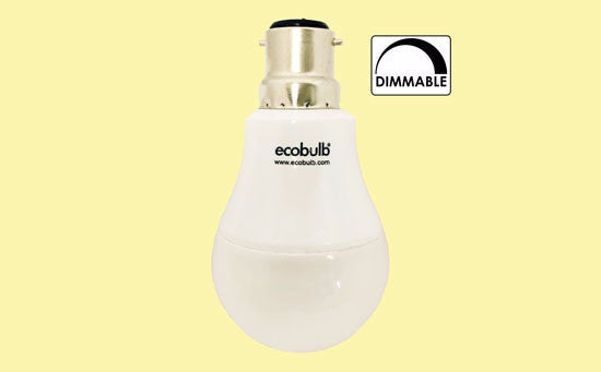 Ecobulb LED Bulb, B22 9Watt Warm White - LED - My Eco Limited - Downlight