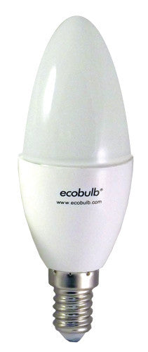 Ecobulb 4.4W LED E14 Screw Candle - LED - My Eco Limited - Downlight