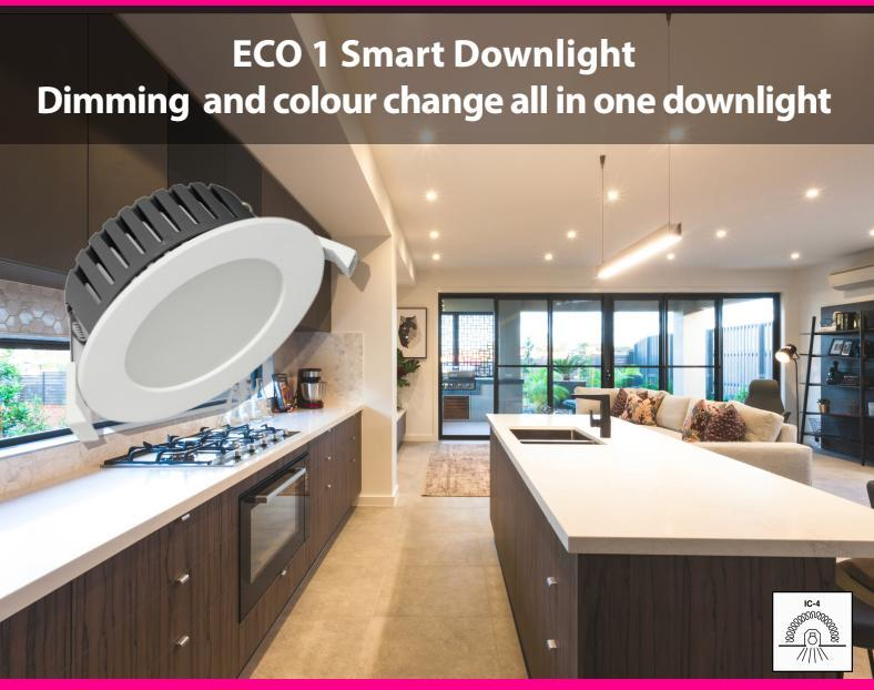 ECO1 - the versatile multifunction downlight