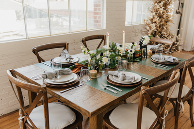 Holiday Tablescapes with Caitlin Lavender