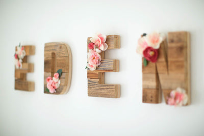 DIY: Wooden Name Sign