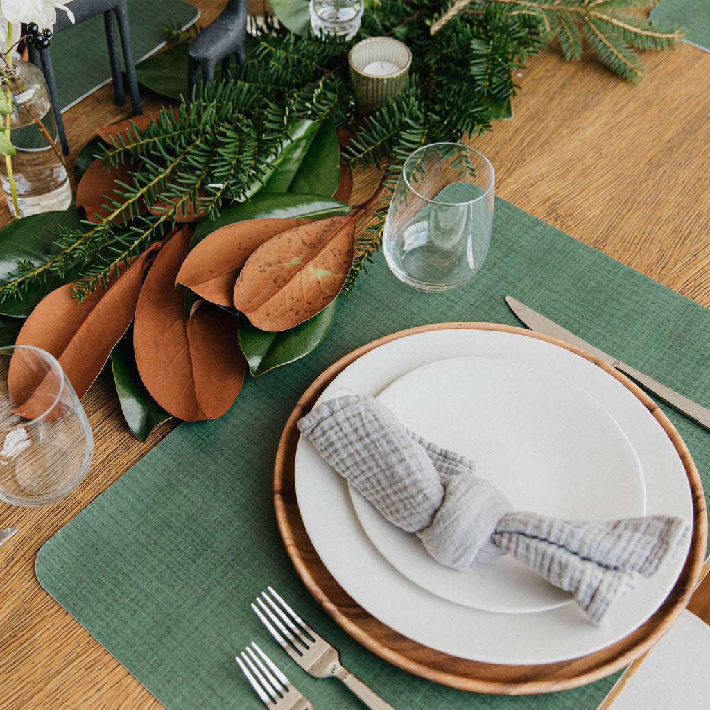 Balsam Fir Placemat Table Setting