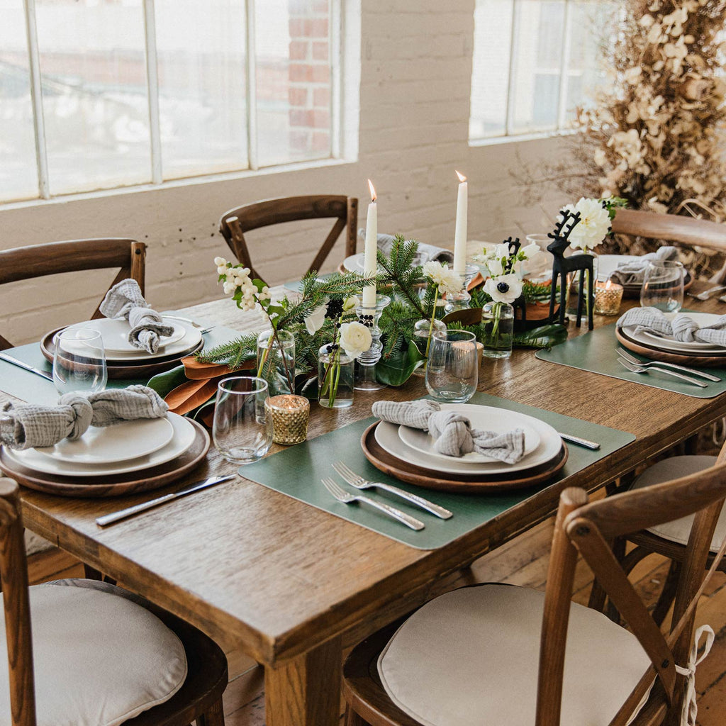 Mealtime is a breeze with our Balsam Fir placemats