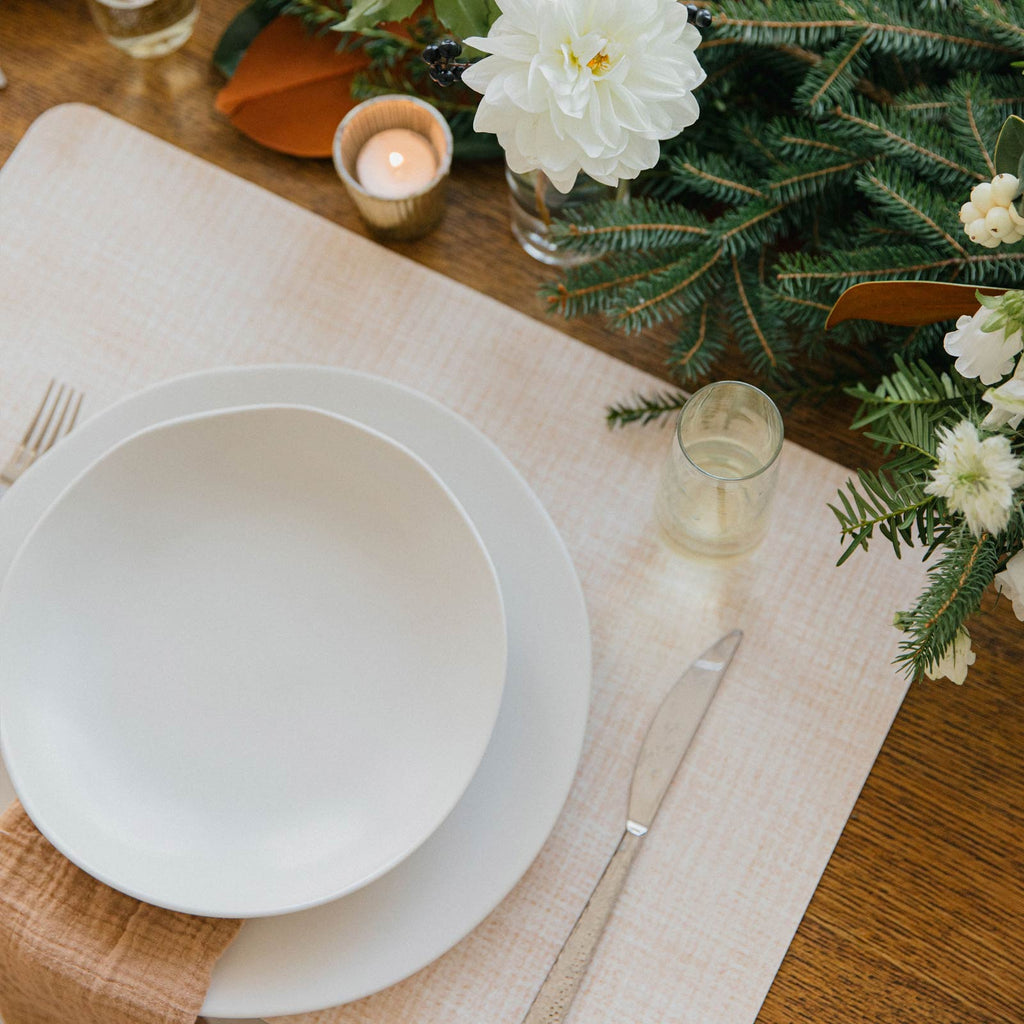 Beechwood Placemat Table Setting