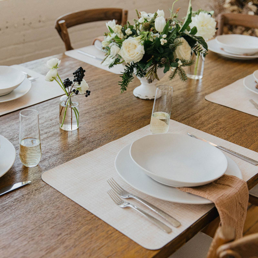 Mealtime is a breeze with our Beechwood placemats