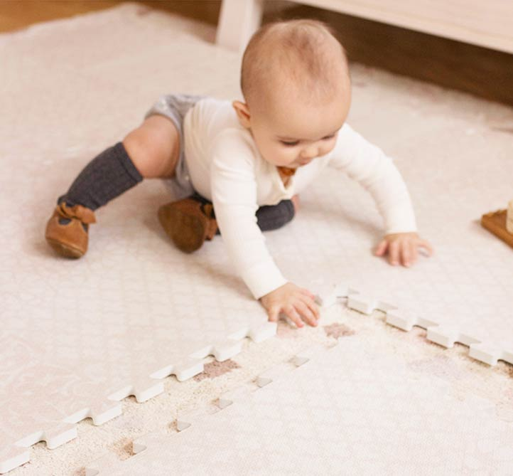 Roam Free Play Mats Are Wipe Clean And Easy To Maintain!