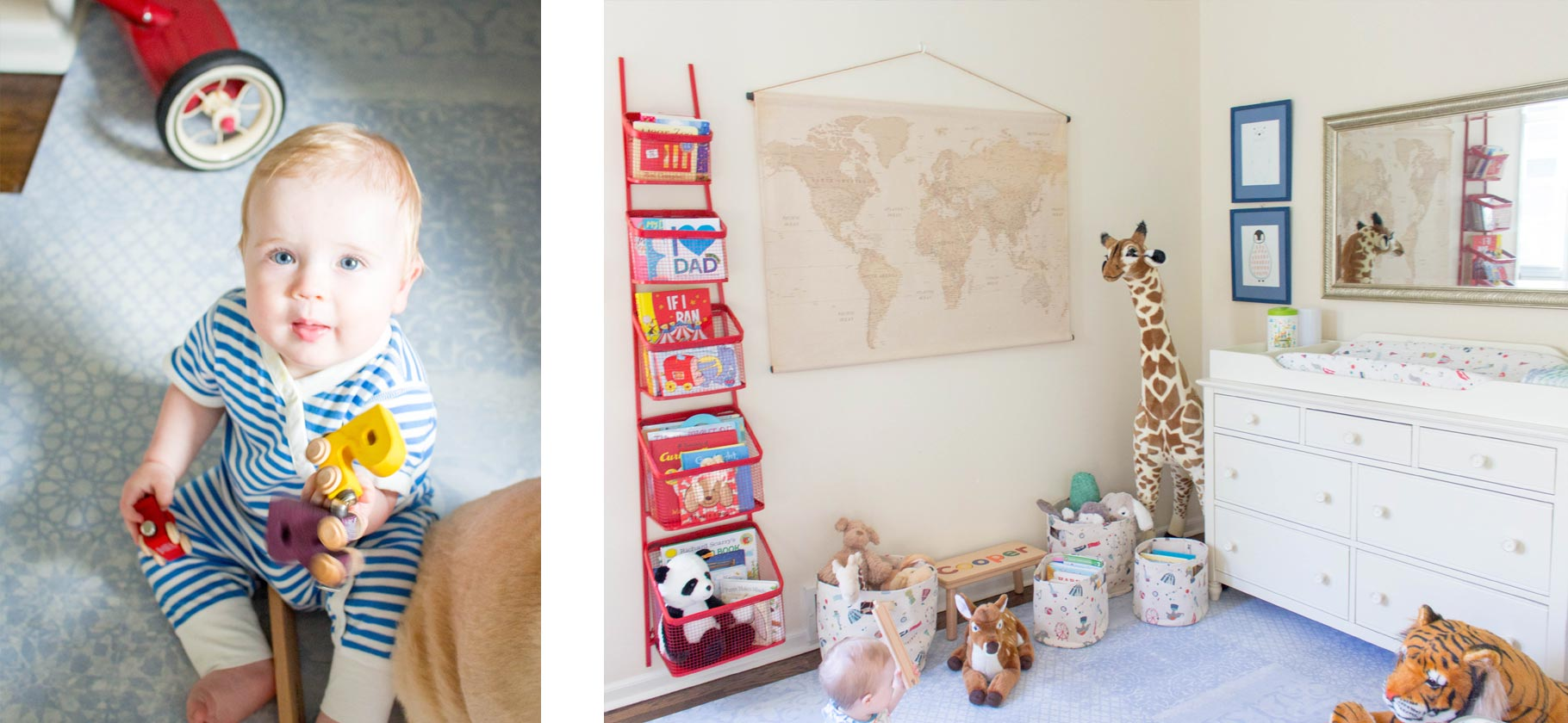 Little Nomad Cooper's Nursery Reveal