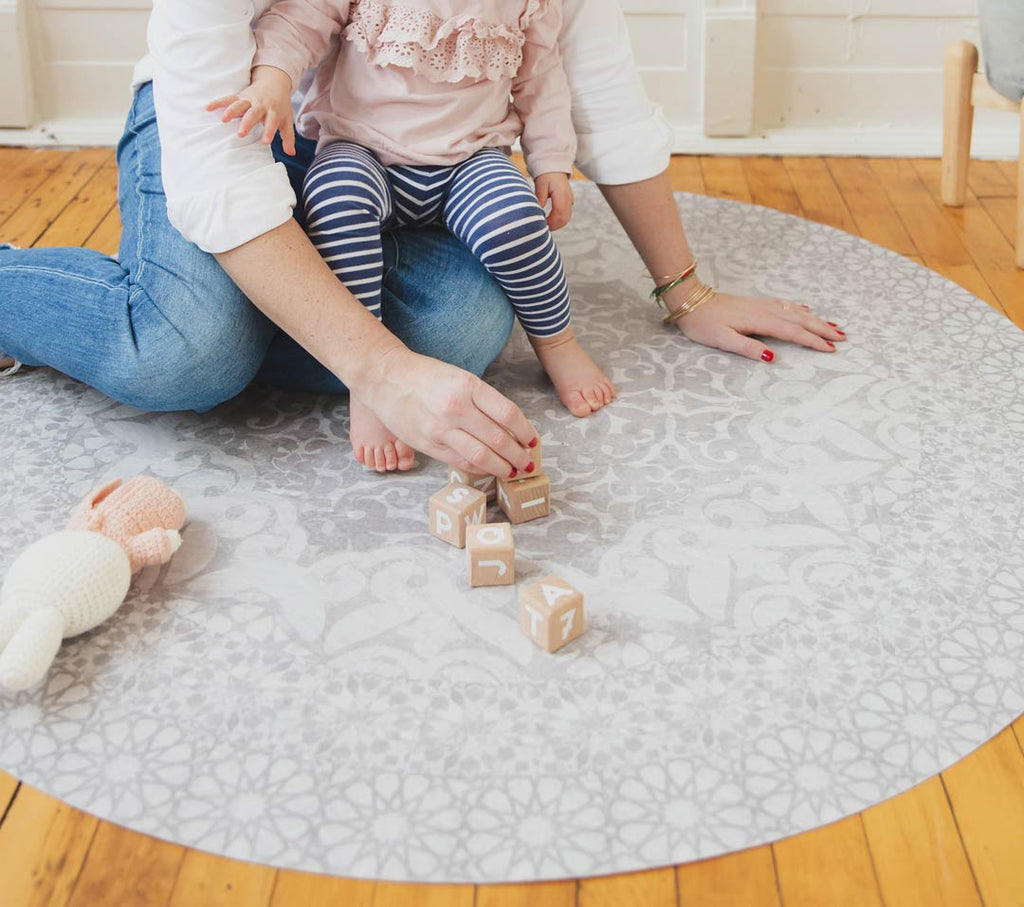 Easy clean up with Everly Mat