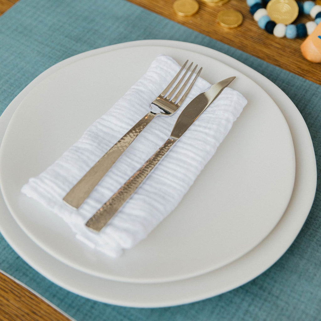 Juniper Berry Placemat Table Setting