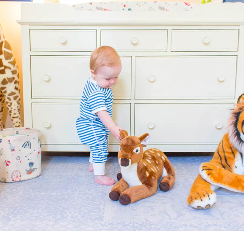 The Perfect Nursery With Roam Free Play Mat