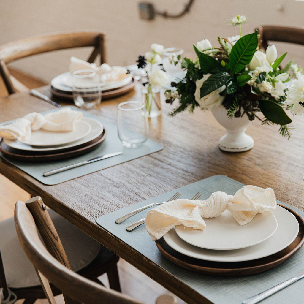 Mealtime is a breeze with our Paper Birch placemats