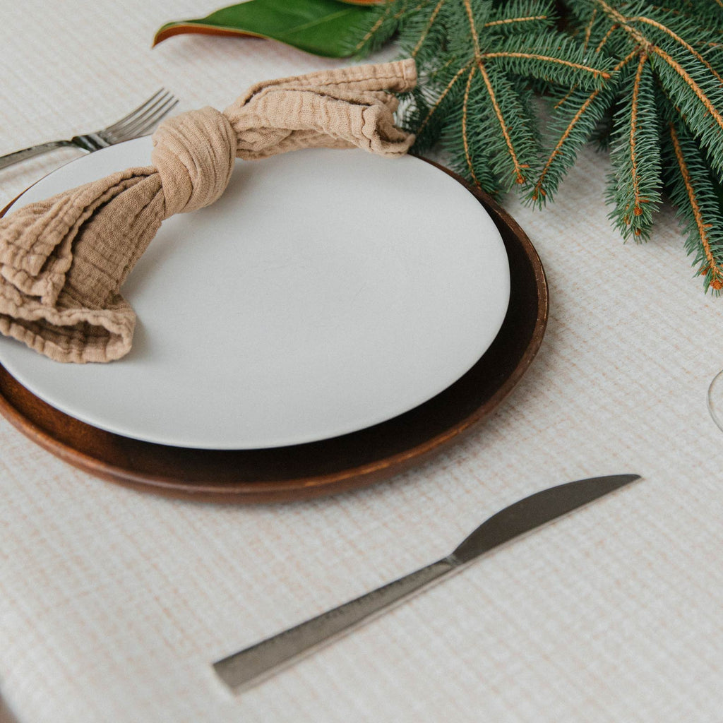 Mealtime is a breeze with our Beechwood Tablemat