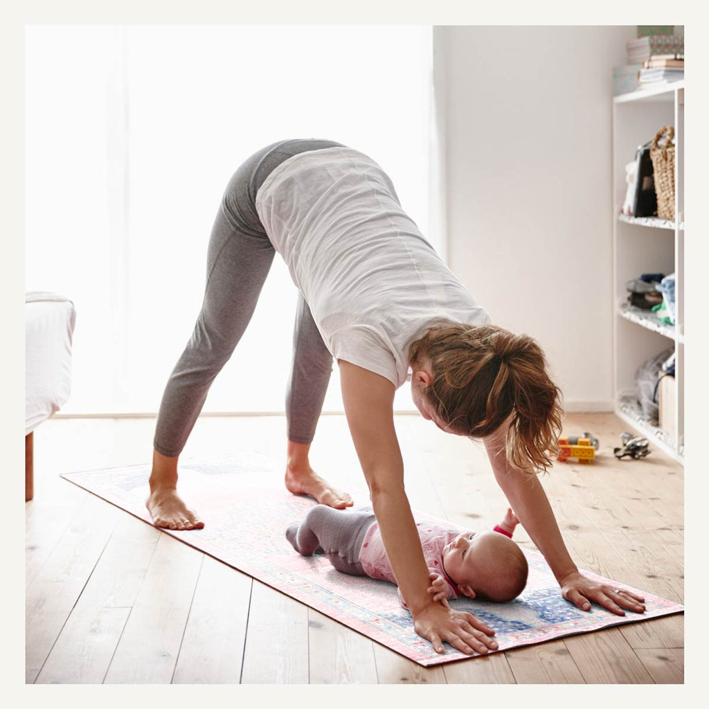 Yoga Mom with Baby