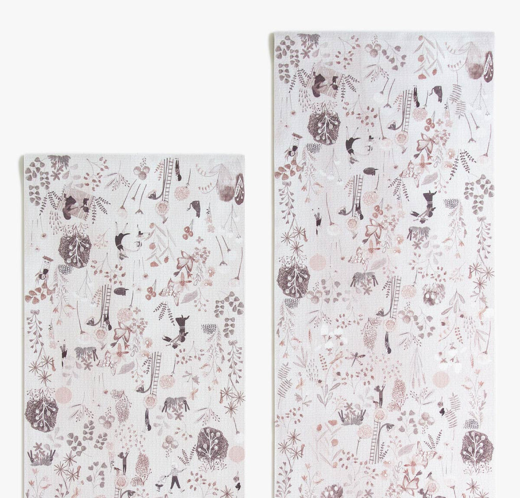 Yoga Mat Taupe in 2 Sizes