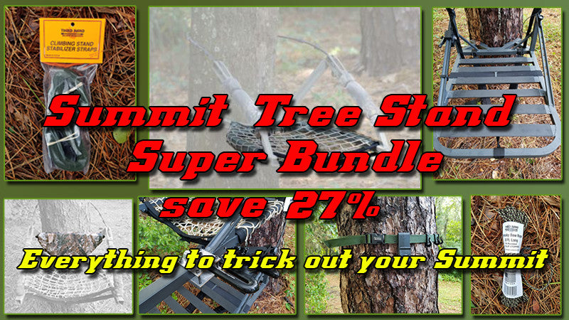 Summit tree stand complete trick out kit