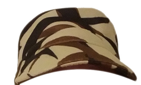 Packable ASAT Camo military unlined fleece hat.