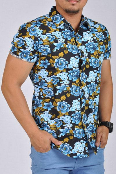 754dbb38213a39 21 Men Tropical Hawaiin Design Dress Short Sleeve – US Outlet
