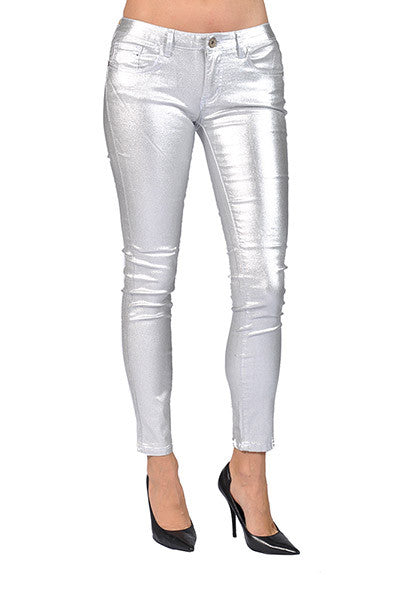 Free shipping BOTH ways on Pants, Silver, Women, from our vast selection of styles. Fast delivery, and 24/7/ real-person service with a smile. Click or call