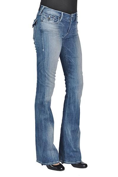 64210d626feb5 True Religion Womens Fashion Becca Flared Flap Back Pocket