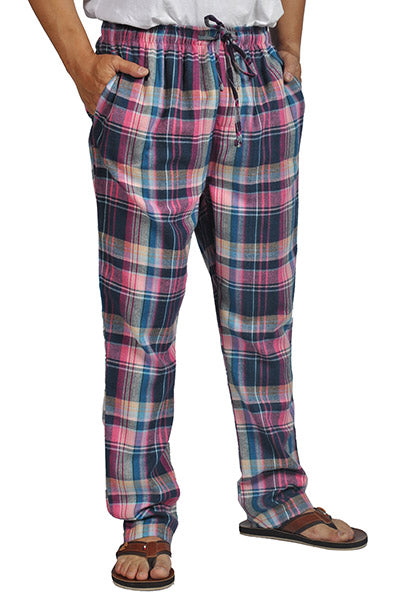 ProTouch Mens Super Soft Flannel Plaid Pajama Elastic Drawstring ... 71b67782e