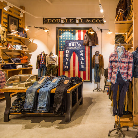 30aa344e75 Ralph Lauren's tribute to timeless and rugged American style that draws on  inspiration from the pioneering and hard-wearing lifestyle of American  workers, ...