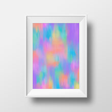 "Load image into Gallery viewer, ""Pastel fantasy"" art print"